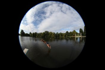 Fisheye view © Ruth Corney
