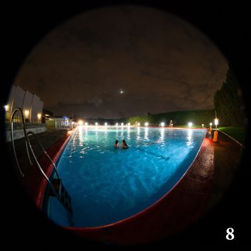 Moonlight - fisheye